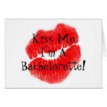 Días del fiesta de Bachelorette Tarjeta De Felicitación