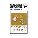 Días del flip-flop franqueo