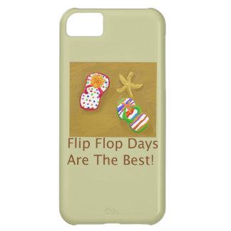 Días del flip-flop funda para iPhone 5C