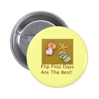 Días del flip-flop pins