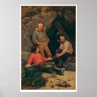 Días del oro (1171C) Póster
