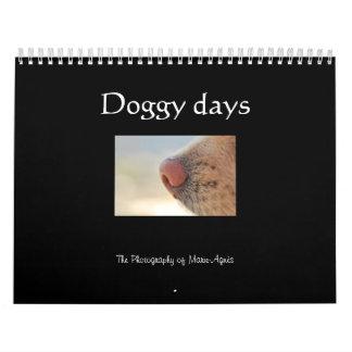 Días del perrito, el calendario del perro
