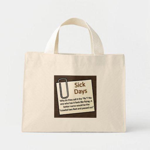 Días enfermos bolsas
