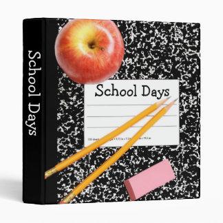 """Días escolares 1"""" álbum de foto carpeta 1"""""""
