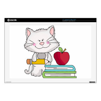 Días escolares con el gato 43,2cm portátil calcomanía