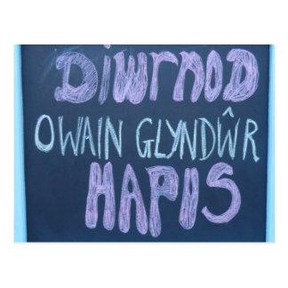 Días felices de Owain Glyndŵr Postal