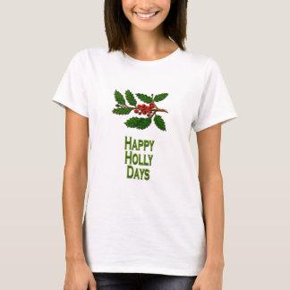 Días felices del acebo playera