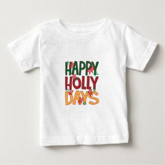 Días felices del acebo t-shirt