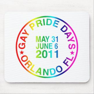 Días gay 2011 alfombrilla de ratón