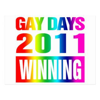 Días gay 2011 postal