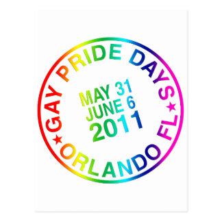 Días gay 2011 postales