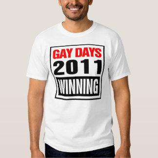 """Días gay 2011 """"QUE GANAN """" Poleras"""