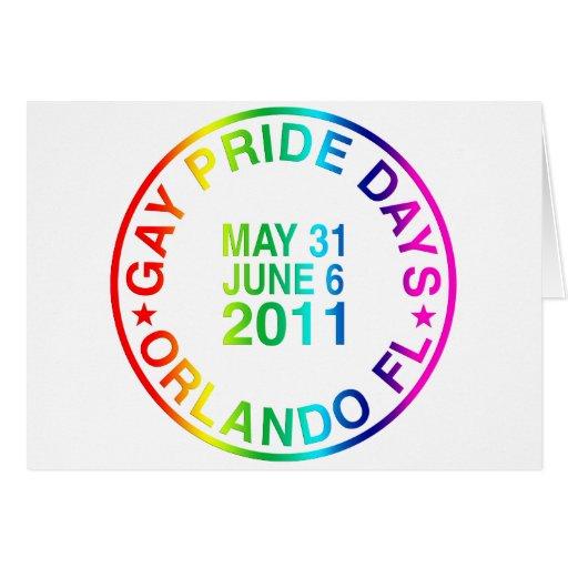 Días gay 2011 felicitaciones