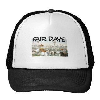 Días justos de la CAMISETA Gorra