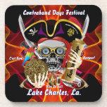 Días Lake Charles, Luisiana del contrabando Posavasos De Bebidas