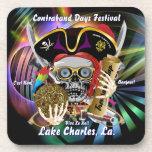 Días Lake Charles, Luisiana del contrabando Posavasos De Bebida
