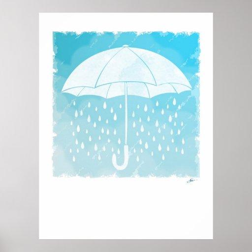 Días lluviosos impresiones