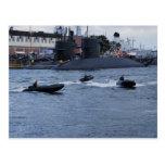 Días marinos 2009 tarjeta postal