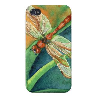 Días perezosos - libélula iPhone 4/4S carcasa