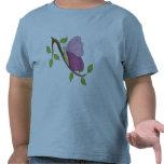 Días rosados de la mariposa camiseta
