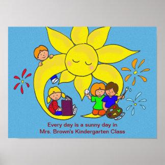 Días soleados póster