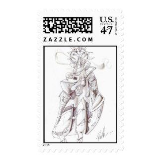 Días soleados timbres postales