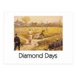 Días SUPERIORES del diamante Postales