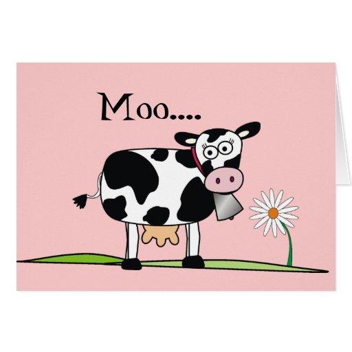 Días Vaca-Felices de Mudders Felicitaciones