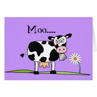 Días Vaca-Felices de Mudders Tarjeta De Felicitación