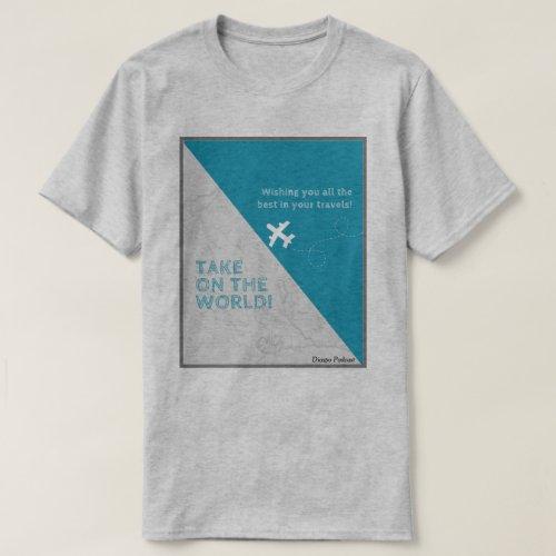 Diaspo Mens Basic Dark T_Shirt