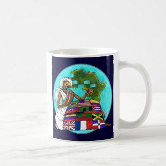 'Diaspora Quilt' ceramic mug