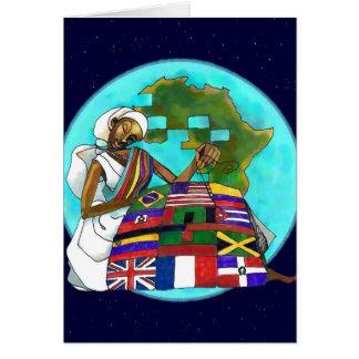 'Diaspora Quilt' Kwanzaa card