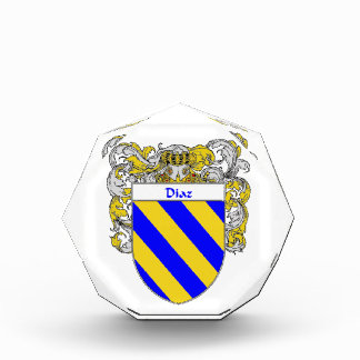 Diaz Coat of Arms Family Crest Awards