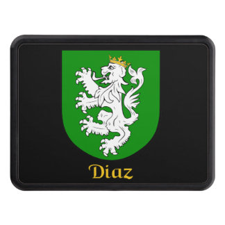 Diaz Family Shield Tow Hitch Cover