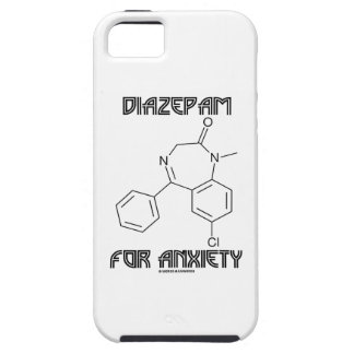 Diazepam For Anxiety (Chemical Molecule) iPhone 5 Covers