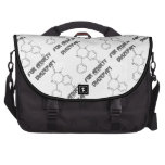 Diazepam For Anxiety (Chemical Molecule) Bag For Laptop