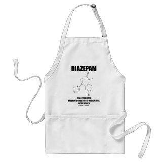 Diazepam Frequently Prescribed Medications Adult Apron