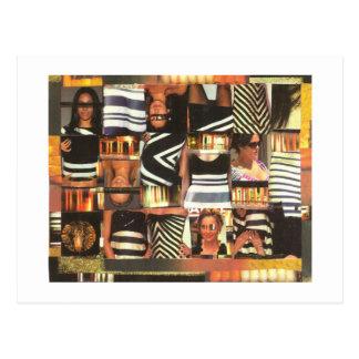Dibble_Art11_Babes_And_Bars-B Postcard