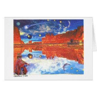 Dibble_Art12_Kokopelli-b1 Stationery Note Card