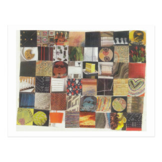 Dibble_Artworks_078_Sun_And_Shadows_Quilt_Number_T Postcard
