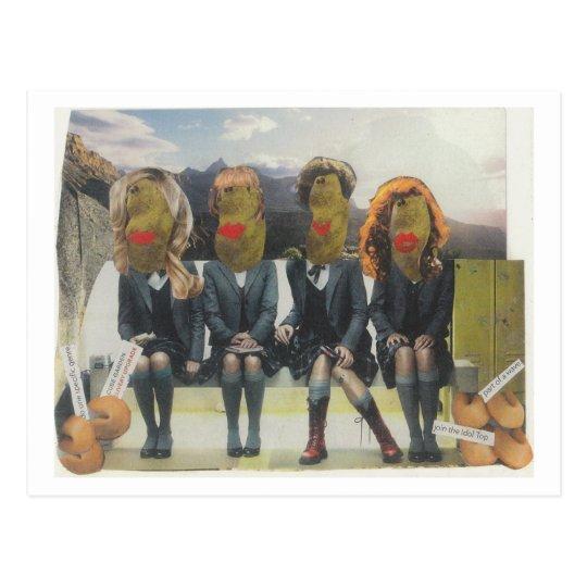 Dibble_Artworks_130_Misses_Potatoheads Postcard