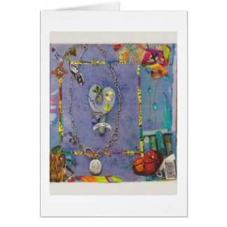 Dibble_Artworks_138_Blue_Heart_Healing Stationery Note Card