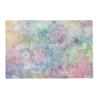 dibujo abstracto de la carta blanca de la acuarela tapete individual