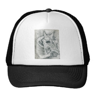Dibujo acorazado del caballo gorro