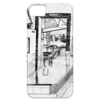 Dibujo americana del comensal del país viejo del iPhone 5 carcasa