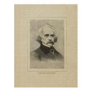 Dibujo americano autor de Nathaniel Hawthorne Postal