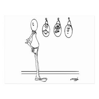 Dibujo animado 1175 del humor postal