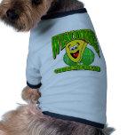 Dibujo animado 2 de CheeseHead Camiseta De Perrito