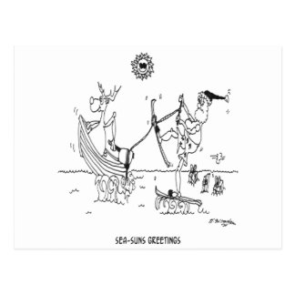 Dibujo animado 6193 de Santa Tarjetas Postales