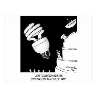 Dibujo animado 9209 de la astronomía postales